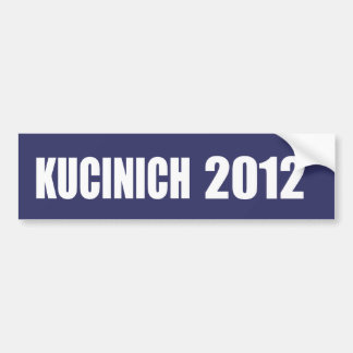DENNIS KUCINICH Election Gear Bumper Sticker