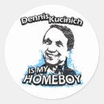 Dennis Kucinich es mi homeboy Etiqueta Redonda