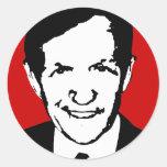 Dennis Kucinich Gear Round Sticker