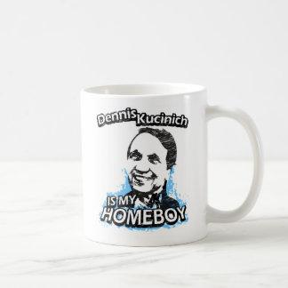 Dennis Kucinich is my homeboy Classic White Coffee Mug