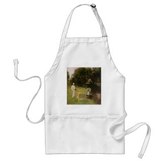 Dennis Miller Bunker Painting at Calcot by Sargent Adult Apron