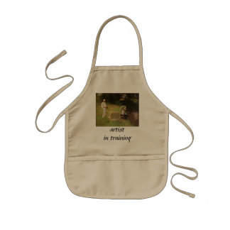 Dennis Miller Bunker Painting at Calcot by Sargent Kids' Apron