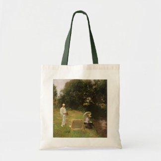 Dennis Miller Bunker Painting at Calcot by Sargent Tote Bag