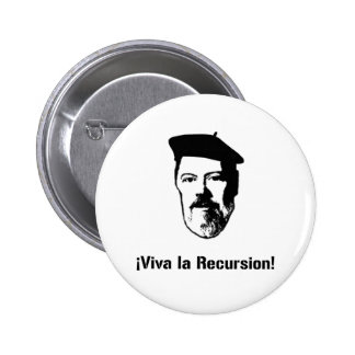 Dennis Ritchie: ¡Repetición del la de Viva del ¡! Pin Redondo 5 Cm