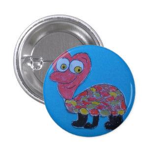 Dennis Small Round Badge Button