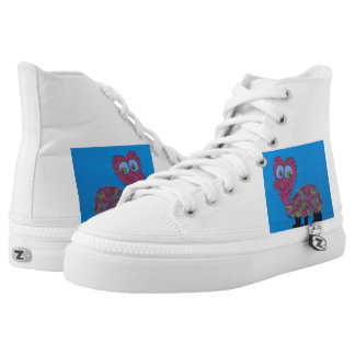 Dennis Zipz Shoes, for Men and Women High-Top Sneakers