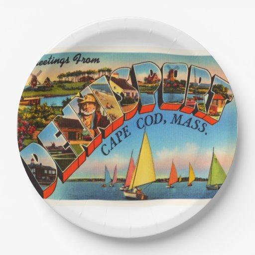 Dennisport Cape Cod Massachusetts MA Old Travel Paper