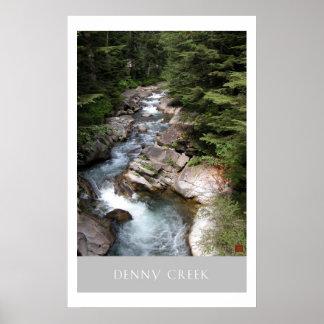 Denny Creek-Print Poster