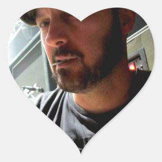 Denny DeMarchi in concert Heart Sticker