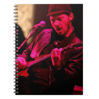 Denny DeMarchi Music Merchandise Notebook