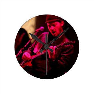 Denny DeMarchi Music Merchandise Round Clock