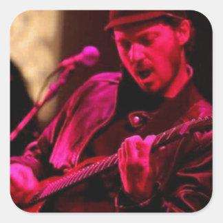 Denny DeMarchi Music Merchandise Square Sticker