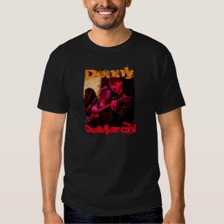 Denny DeMarchi Playing Guitar Tee Shirt