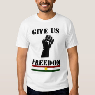 Dénos la libertad polera
