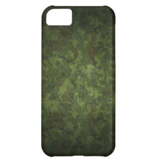 Dense Green/black Camouflage Design Case For iPhone 5C