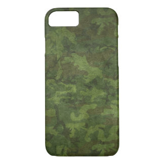Dense Green/black Camouflage iPhone 7 Case