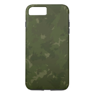 Dense Green/black Camouflage iPhone 7 Plus Case