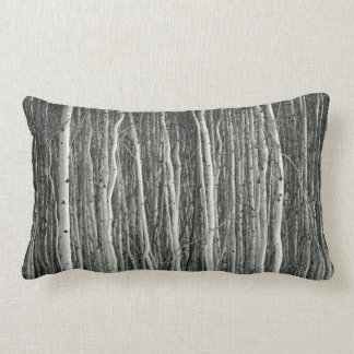 dense woods pillow (aspen tree grove)