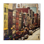 Densidad urbana - New York City Azulejo Ceramica