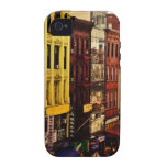 Densidad urbana - New York City iPhone 4/4S Fundas