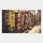 Densidad urbana - New York City Rectangular Altavoz