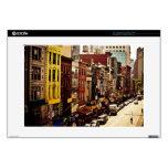 Densidad urbana - New York City Calcomanía Para 38,1cm Portátil