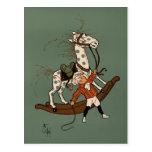 Denslow's Mother Goose - Rocking-Horse Postcard