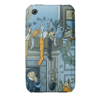 Denslow's Night Before Christmas Illustration Case-Mate iPhone 3 Cases
