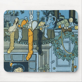 Denslow's Night Before Christmas Illustration Mouse Pad