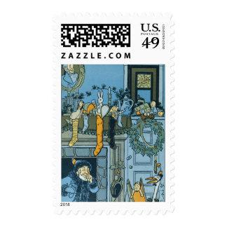 Denslow's Night Before Christmas Illustration Stamp