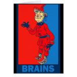 Denslow's Wizard of Oz: Brains Card