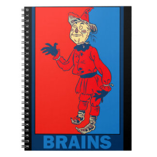 Denslow's Wizard of Oz: Brains Notebook