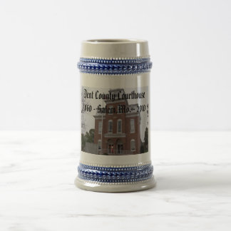 Dent County Courthouse, 1860 - Salem,Mo. -... Beer Stein