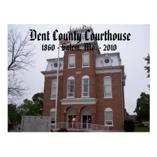 Dent County Courthouse, 1860 - Salem, Mo. ... Postcard