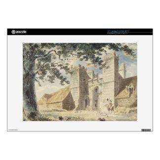 Dent de Lion, Margate, c.1791 (w/c over graphite w Laptop Skin