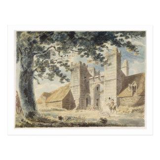 Dent de Lion, Margate, c.1791 (w/c over graphite w Postcard