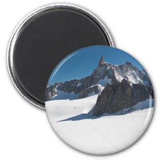Dent du Geant - Mont Blanc Imanes De Nevera
