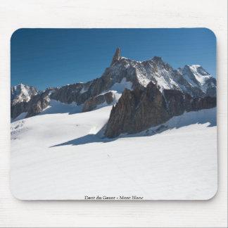Dent du Geant - Mont Blanc Mouse Pad