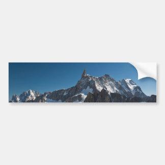 Dent du Geant - Mont Blanc Pegatina Para Auto