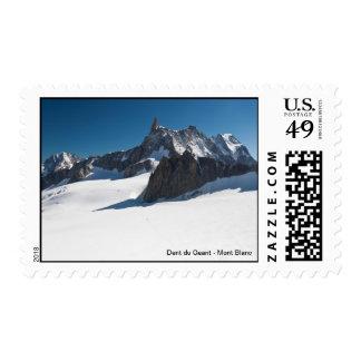 Dent du Geant - Mont Blanc Sello