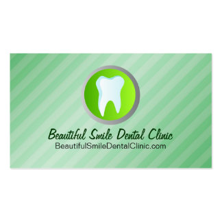 Dental Appointment Cards Template Double-Sided Standard Business Cards (Pack Of 100)