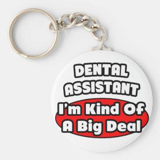 Dental Assistant...Big Deal Basic Round Button Keychain