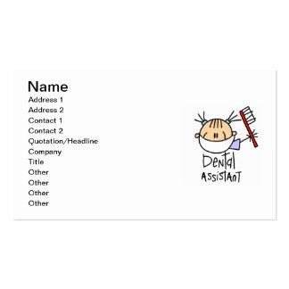 Dental Assistant Business Cards