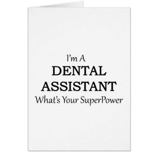 DENTAL ASSISTANT CARD