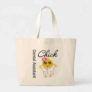 Dental Assistant Chick Jumbo Tote Bag
