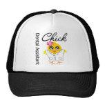 Dental Assistant Chick Trucker Hat