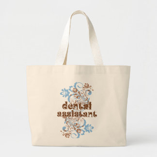 Dental Assistant Cute Gift Large Tote Bag