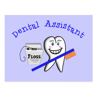 Dental Assistant Gifts Postcard