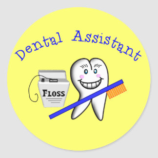 Dental Assistant Gifts Stickers