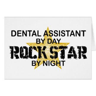 Dental Assistant Rock Star Card